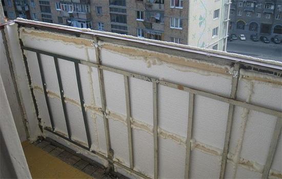 Советы по работам по утеплению балкона