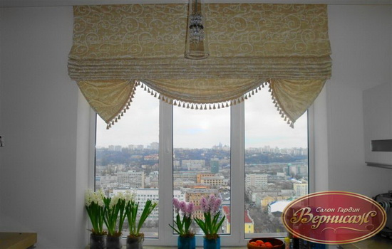 шторы светлого цвета