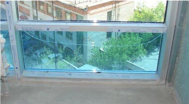 Рисунок 3: Пример растрескивания стекла в пакете