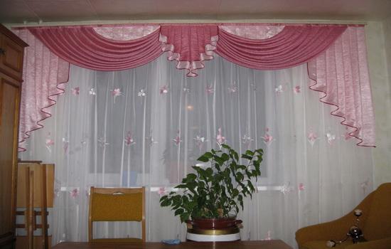 Что такое ламбрекены на окне