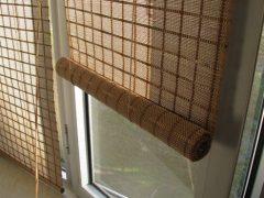 Шторы из бамбука и их применение