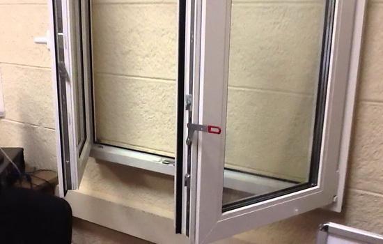 Штульповое открывание окна