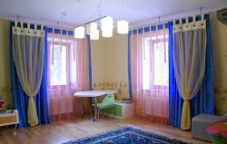 Шторы для детской комнаты. Правила подбора + фото