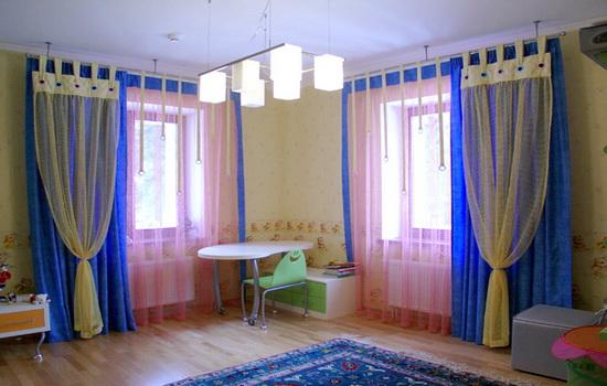 Шторы для детской комнаты. Правила подбора