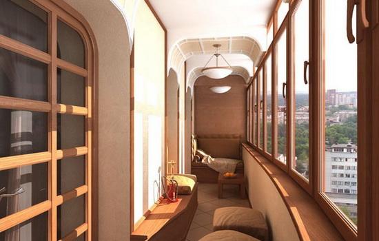 Из чего складывается стоимость отделки балкона
