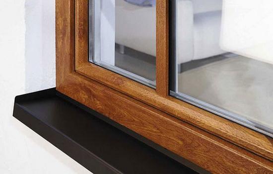 Специфика установки отливов на деревянные окна
