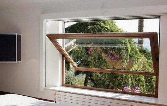 Среднеподвесное окно