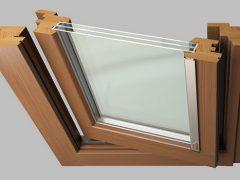 Среднеподвесные окна — необычное решение