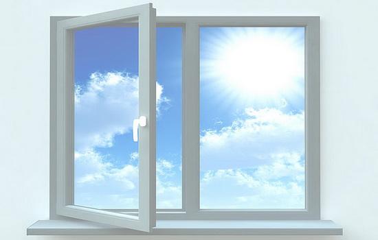 Стекло-пластиковое окно