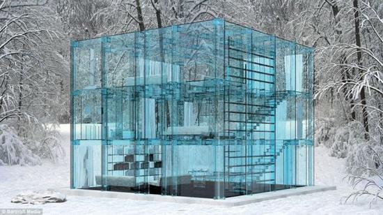 Стеклянный дом изнутри