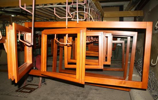 Производство деревянных сосновых окон
