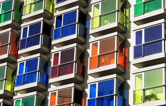 Цветные ПВХ окна