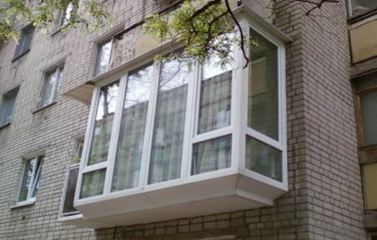 Французский балкон. Описание