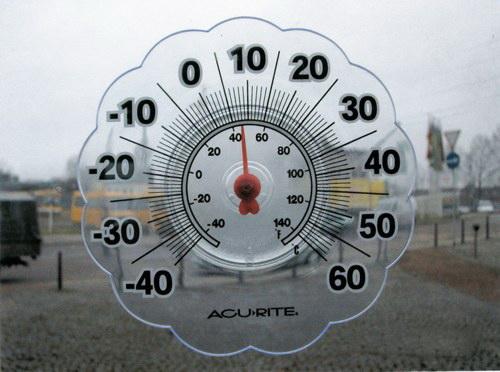 Термометр ТC-55 для пластиковых и деревянных окон