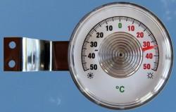 Термометр оконный уличный. Описание установки на пластиковое и деревянное окно