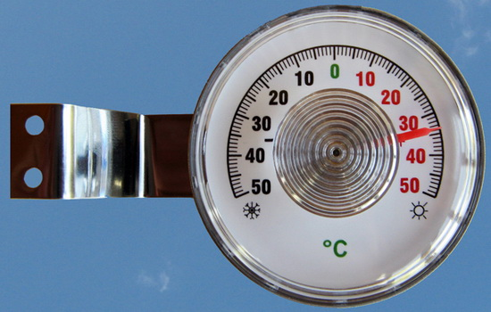 Термометр уличный на окно