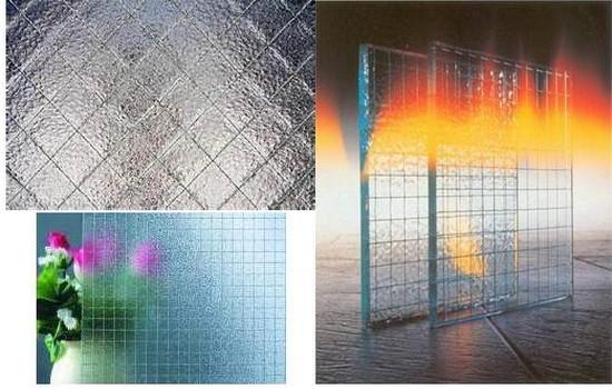 Типы армированного стекла