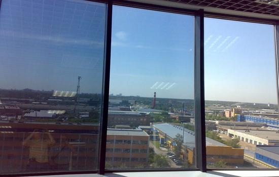 Тонированные ПВХ окна
