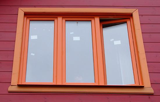 Трехстворчатые ПВХ окна