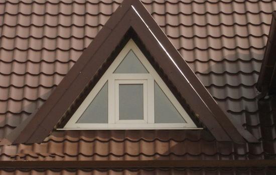 Треугольные окна ПВХ