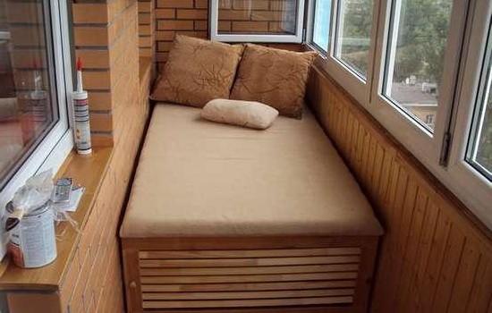 Удачно оформленное спальное место