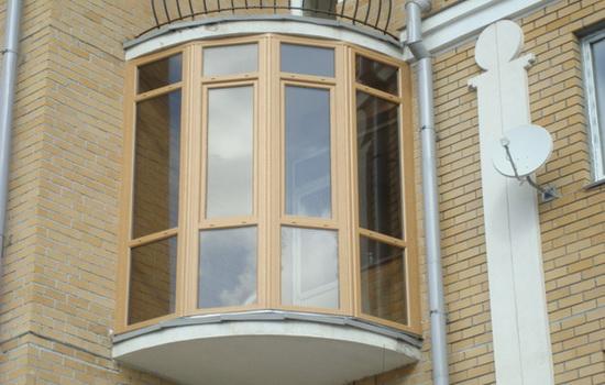 Угловой теплый балкон