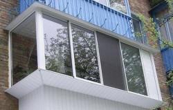 Установка балконных рам своими руками
