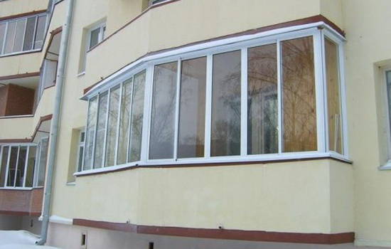Виды остекления балконов