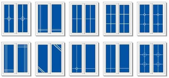 Варианты украшения окна