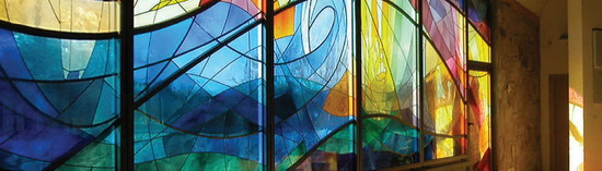 Витражное стекло. Пример