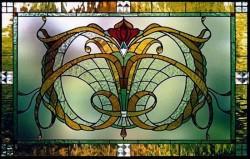 Витражные окна: элегантность вашего дома