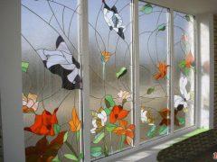 Витражные стеклопакеты. Существующие виды и возможности