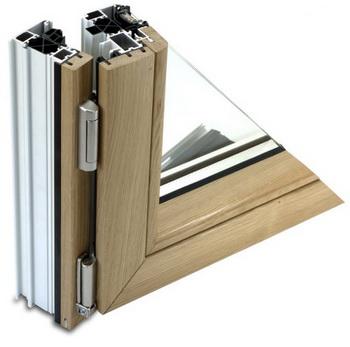 Как выбрать деревянно-алюминиевое окно