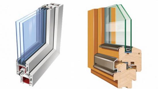 Выбор между ПВХ и деревянным окном