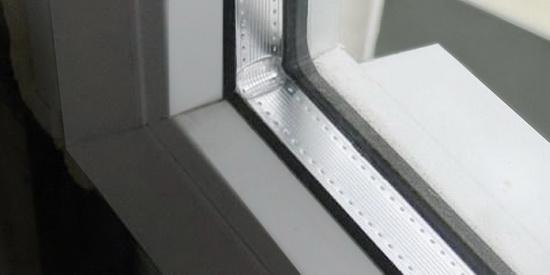 Закаленное пластиковое окно