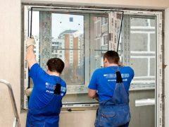 Замена стеклопакетов в пластиковых окнах