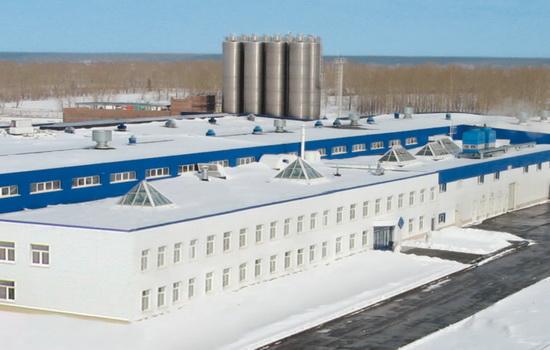 Завод по производству окон из пластика VEKA в Новосибирске