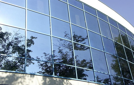 Зеркальная тонировка на окна