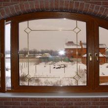 Деревянные окна из лиственницы со стеклопакетом – качество по разумной цене