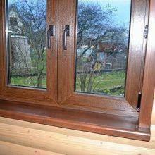 Отделка деревянных окон. Применяемые материалы и последовательность выполнения работ